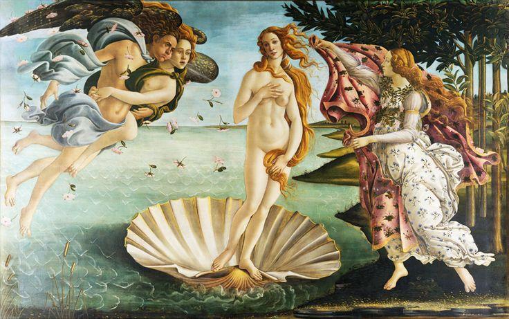 Красота, вдохновленная природой - Афродита. Богиня любви и красоты