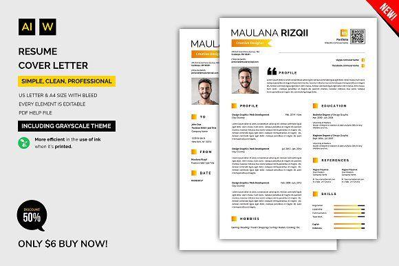 Resume / Cover Letter  @creativework247