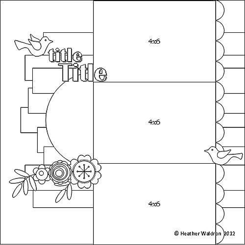 Схемы для открыток для скрапбукинга