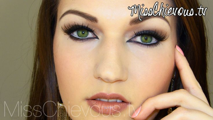 Cat eyes tutorial   Makeup obsession, Almond shaped eyes ...