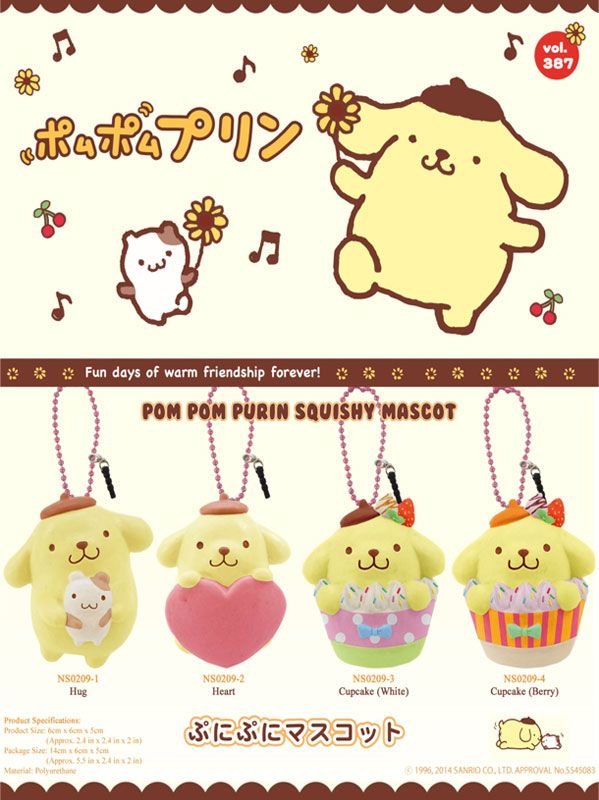 Pompompurin Squishy Bun : 17 Best images about Pom Pom Purin ? on Pinterest Little twin stars, Umbrellas for sale and Kawaii