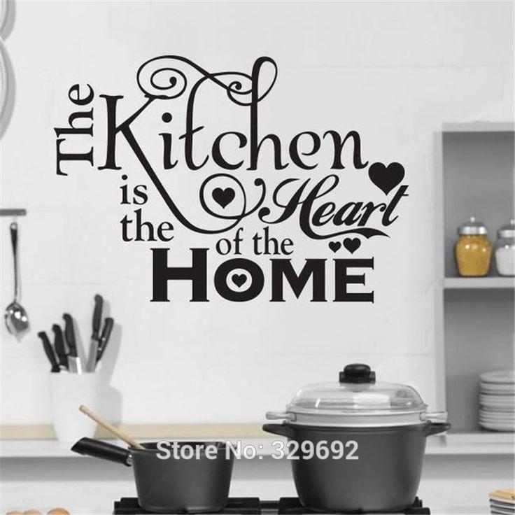 Kitchen House Of Love Vinyl Wall Sticker Home Decor Stickers