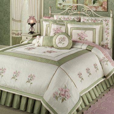 Rose Haven Comforter Set