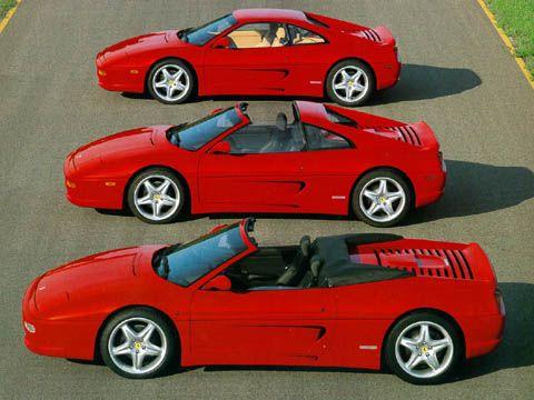 F355. Most gorgeous Ferrari line ever built.