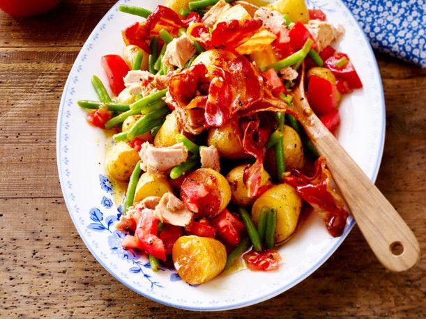 Baked-Potatoe-Salat mit Thunfisch Rezept | LECKER