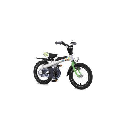 """Rennrad Беговел-велосипед 2 в 1 14""""  — 12800р. ----------------- Беговел-велосипед """"2 в 1"""" 14"""" зелёногоцвета марки Rennrad. Благодаря беговелу-велосипеду ваш ребенок легко и быстро научится держать равновесие. Большинство деталей велосипеда изготовлено из высококачественного алюминиевого сплава. Он прошел проверку Государственной инспекции безопасности и соответствует требованиям жестких стандартов и правил. Его съемные педали разработаны с помощью врачей ортопедов и педиатров, чтобы помочь…"""