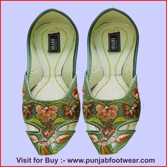 Indian handmade leather Shoes Designer shoes for by Weddingchura, $37.00