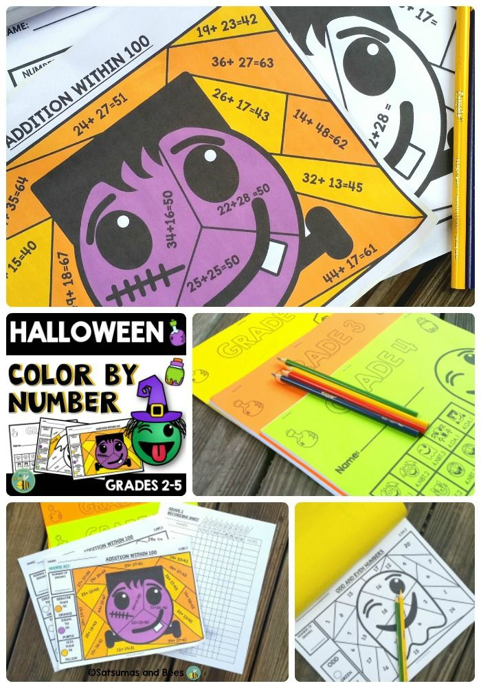 Great resource to reinforce math concepts taught in the classroom through the use of coloring. Each color-by-number sheet will keep your students engaged and will make reinforcing or reviewing math skills fun.This packet includes HALLOWEEN emoji clipart but may be used anytime during the school year as a 3rd grade math review packet.
