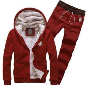 Men's Fleece Hoodie And Pant Set