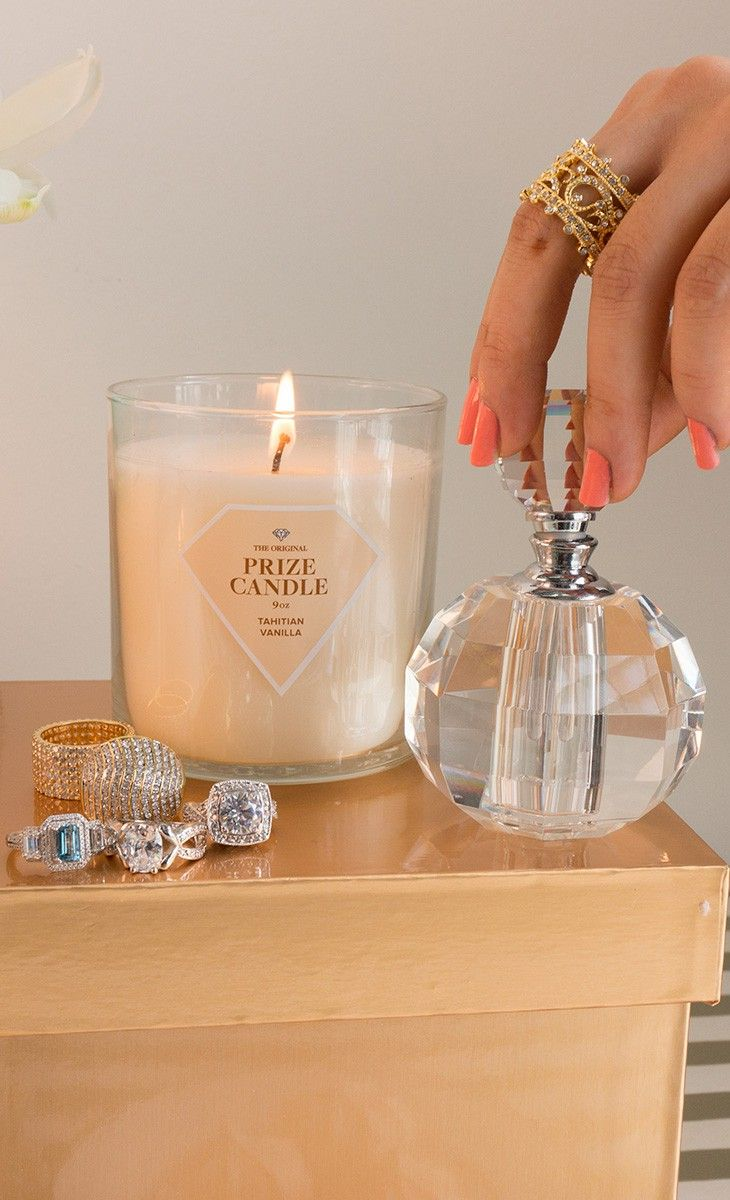 Every Candle Contains A Ring Prize Candle Personalized