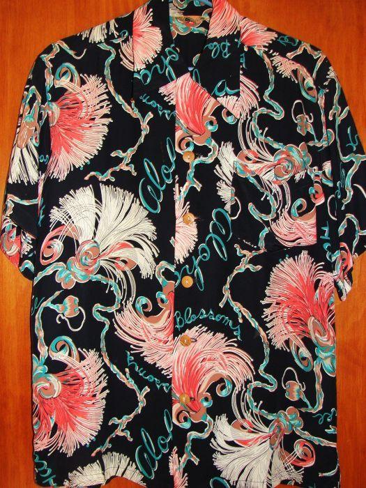 c89df761830 Kamehameha Bombax Rayon Shirt in 2019   h•i•m   Aloha shirt, Vintage ...