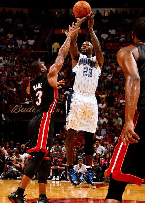 Jason Richardson, Orlando Magic. 18 mars 2012, vs Heat.