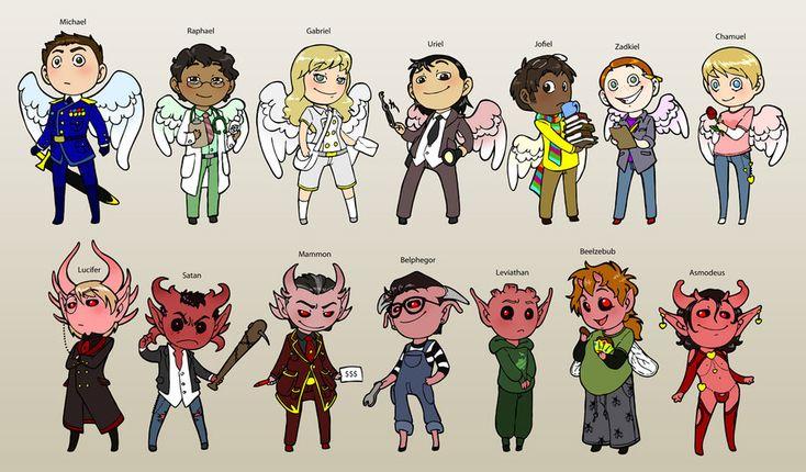14 Angels and Demons by humon.deviantart.com on @DeviantArt