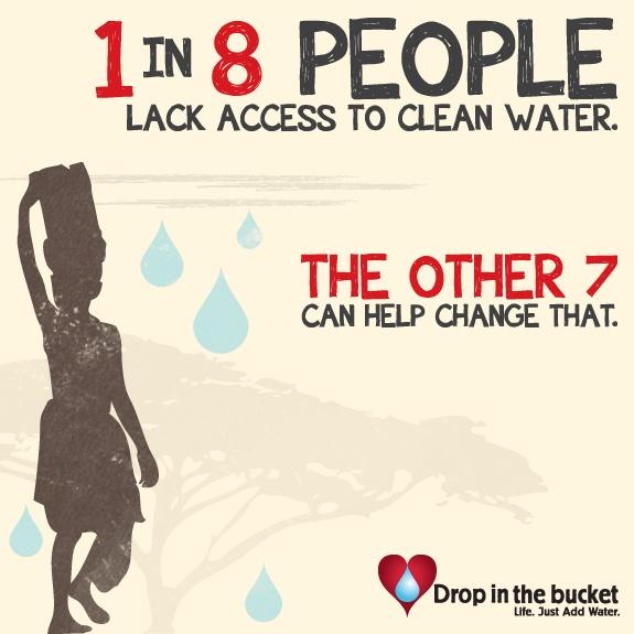 accessibility to clean water Hours of fetching water has been reduced to minutes, home gardens are springing up and, most importantly, the kids can now drink clean water across my community, there is a positive atmosphere filled with hope.