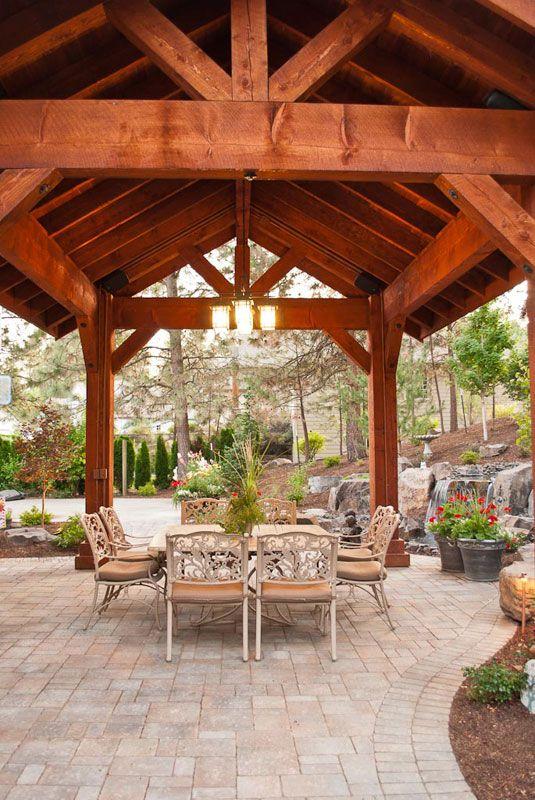 best 25+ pavilion design ideas on pinterest   pavilion ... - Patio Pavilion Ideas