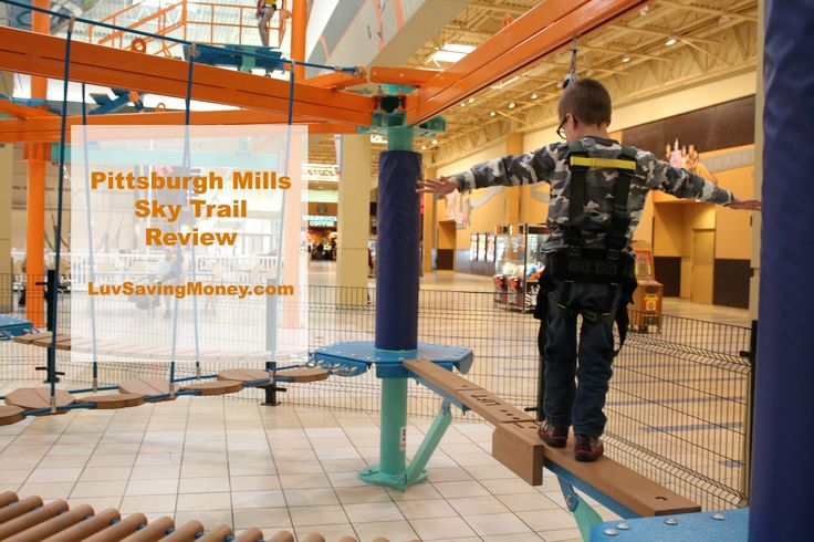 Here's What We Thought of the Pittsburgh Mills Sky Trail #skytrail
