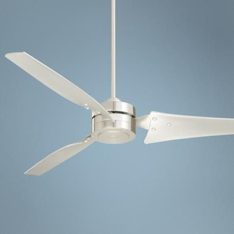 "60"" Emerson Loft Brushed Steel Ceiling Fan - #40819 