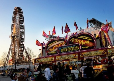 Houston Rodeo Carnival. I'm down for the BBQ Cook Off.