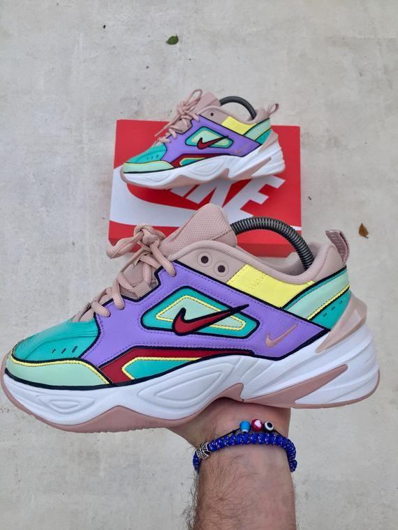 Custom Nike M2K Tekno-Nike colores