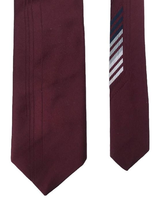 Bovet Burgundy Italy Italian Design Stripes Classy 100% Silk Men's Neck Tie  #Bovet #Tie #menswear #mensfashion #menstyle