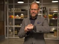 """Recipe : Alton Brown >>>> """"Perfect technique for cooking un-soaked chickpeas. I used different measures: 3 cups of chickpeas in 7 cups of water for 45 minutes and cool down under cold tap water to release lid safely.""""  Vegan • Gluten free •"""