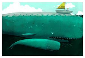 Beekle - Whale, Dan Santat