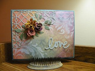 My Own Little Korner: CC3 C #31 Layering Stencil: Paint Resist using Tim Holtz, Ranger, Idea-ology, Sizzix and Stamper's Anonymous products; July 2015
