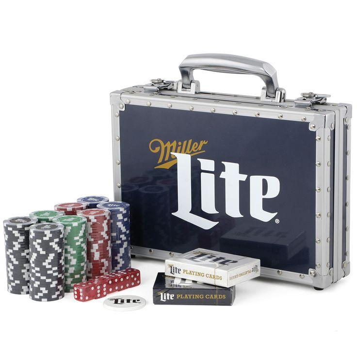 Miller Lite Poker Set