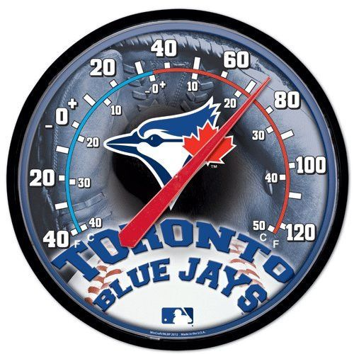 Toronto Blue Jays MLB Round Outdoor Thermometer