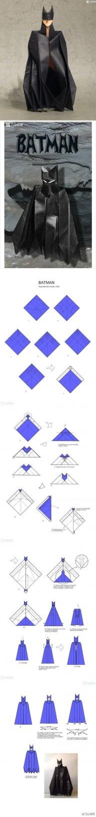 Origami grande pagina di istruzioni <3