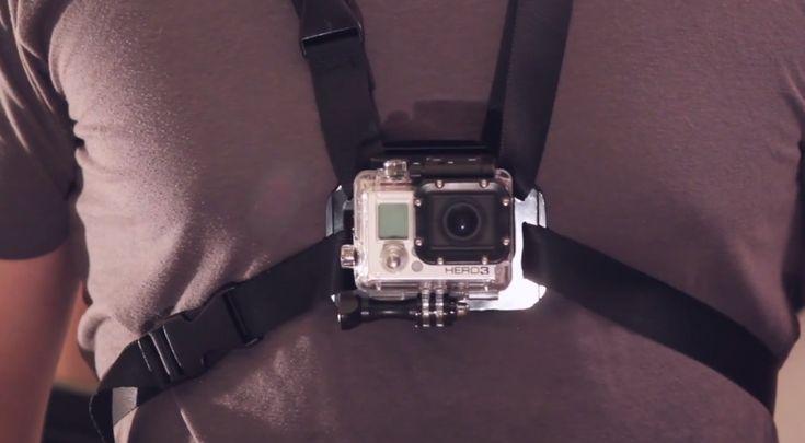 DIY Chest Mount for GoPro