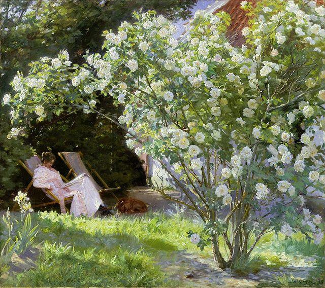 Roses, Peder Severin Krøyer