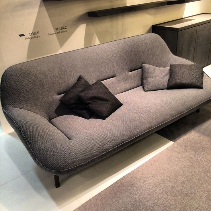 More scandi influences from ligneroset at immcologne - Canape calin cinna ...