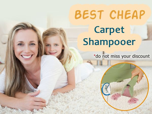 Which cheap carpet shampooer is the best? In this comparative review, we will consider carpet shampooers in the price range of 50-150 dollars. #carpetcleaner #carpetstainremover