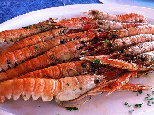 Πολίτικη Κουζίνα Αλίντα Κανάκη: Καραβίδες με βασιλικό-συνταγή: απο την Δήμητρα Παπανδρέου