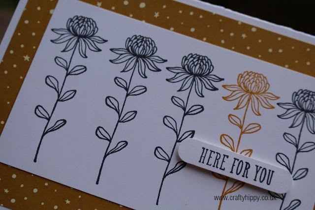 Crafty Hippy - Stampin' Up! Demonstrator Lauren Huntley: Flowering Fields - Stampin' Up! Sale-A-Bration Stamp Set