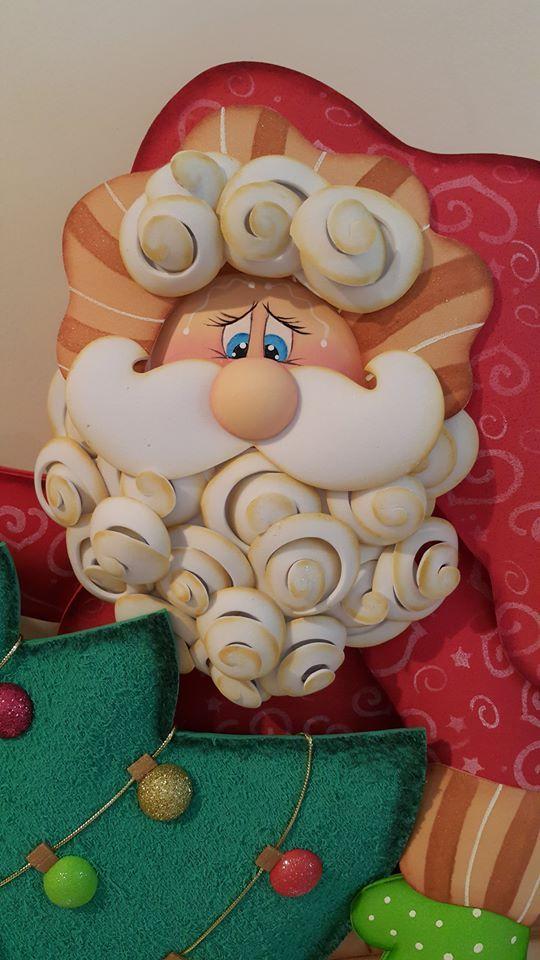 Santa en foami