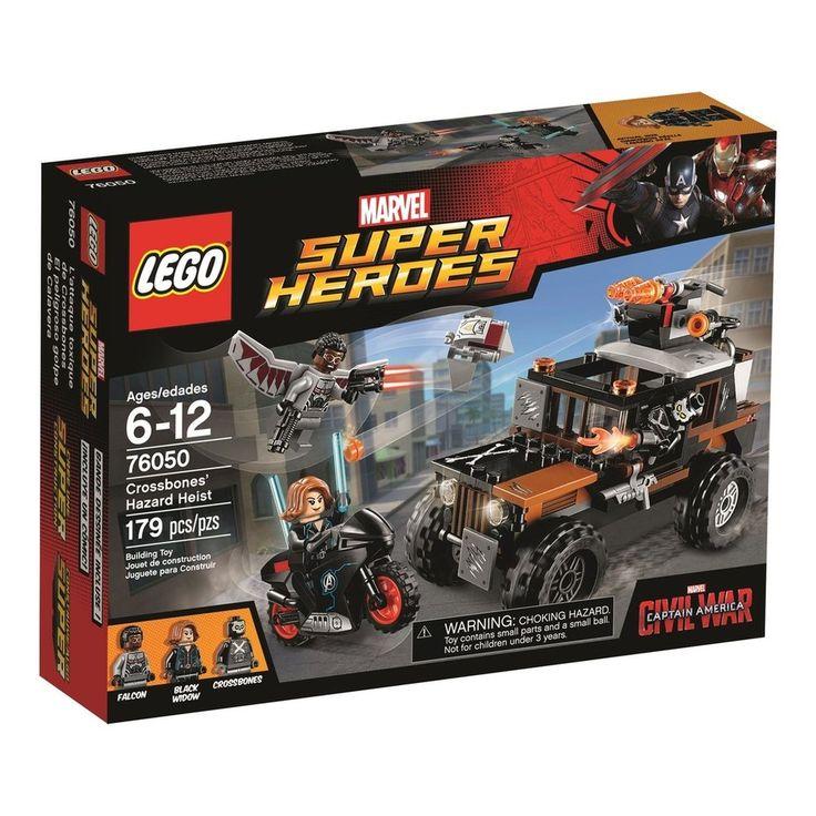 76050 Assalto de Risco do Ossos Cruzados - LEGO® Super Heroes