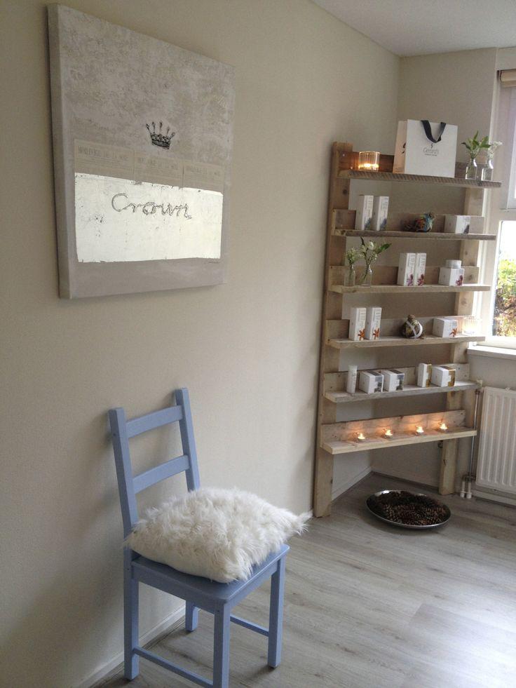 Mijn nieuwe trots: De Beautykamer! Een combinatatie van B&B en schoonheidssalon www.bedindebetuwe.nl