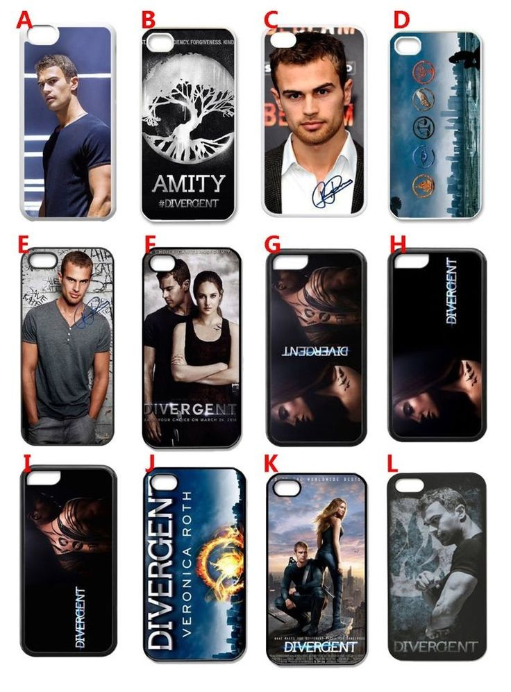 2014 Movie Divergent 3D paint hard back phone case cover for iphone 4 4s 5 5s 5c #Nobrand