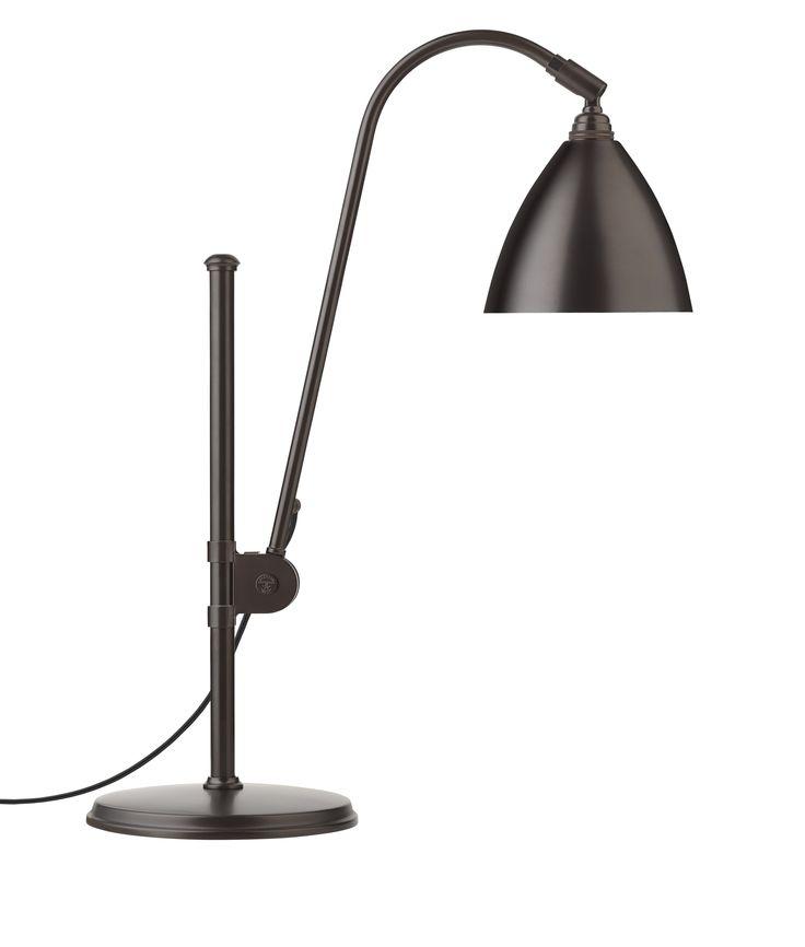 GUBI // Bestlite BL1 Table Lamp in all black brass