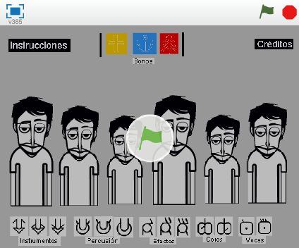 A Scratch version of Incredibox, make your own beatbox choir. http://www.incredibox.com.