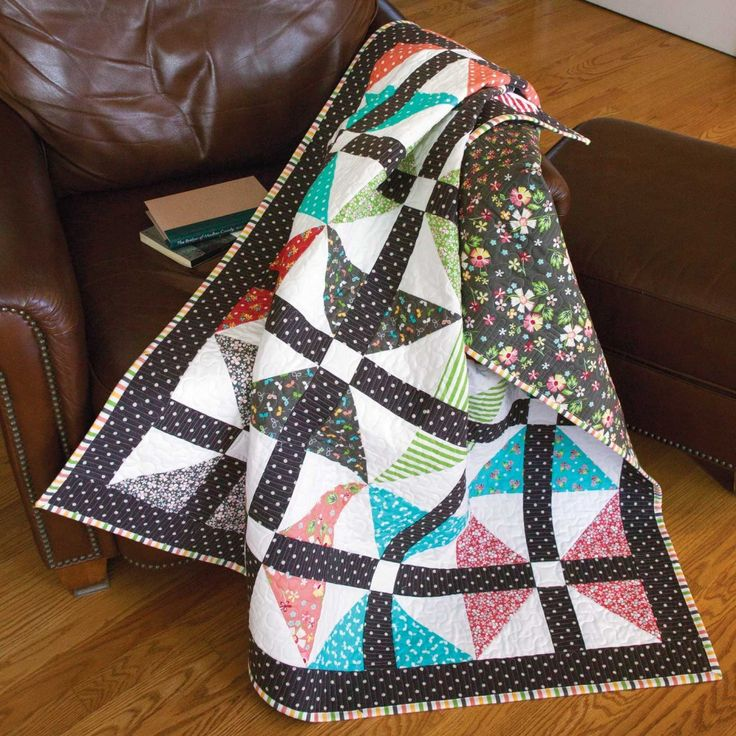 Friday Free Quilt Patterns: Wingin' It Queen Size Quilt | McCall's Quilting Blog