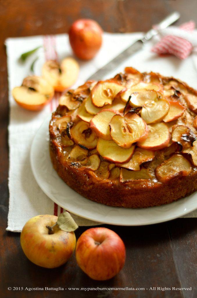 torta di mele all'acqua
