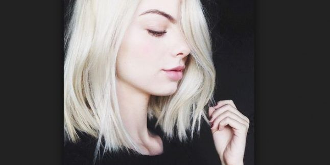 Beyaz Sarı Saç Renk ve Modelleri
