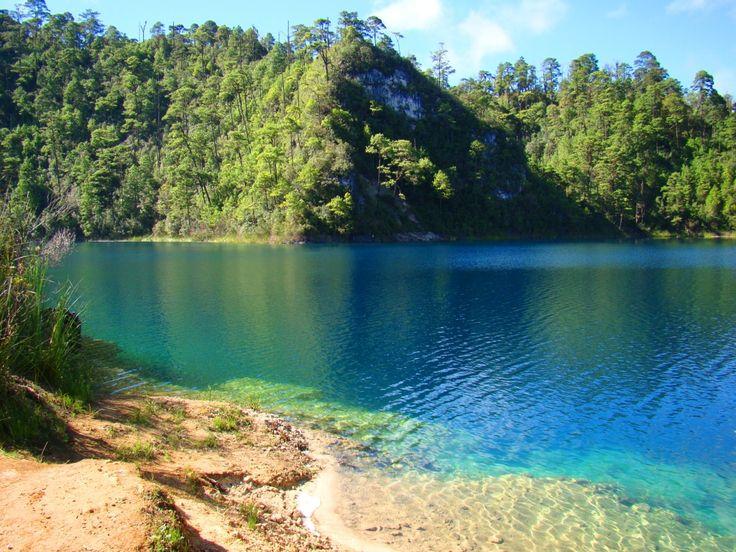 Lagos de Montebello en Chiapas