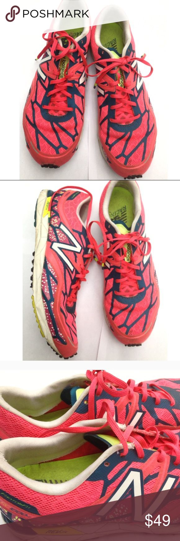 ✅1 HOUR SALE❗️l Running Sneakers Size 10 Womens New Balance Running Racing sneakers Womens size 10 rev light light weight minimal running pre owned New Balance Shoes Sneakers
