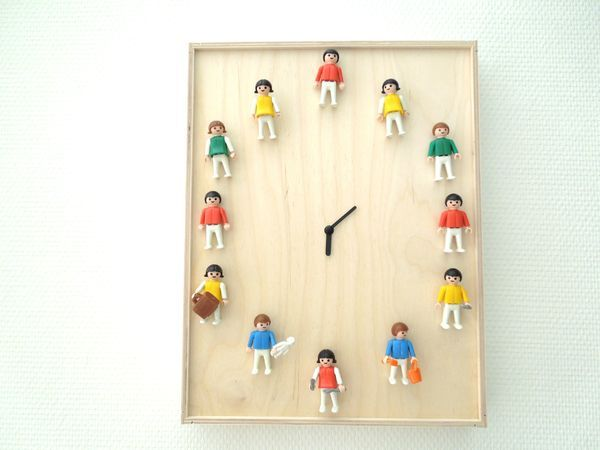 DIY Horloge Playmobil