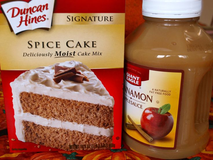 Recipe For Pumpkin Spice Cake Using Spice Cake Mix