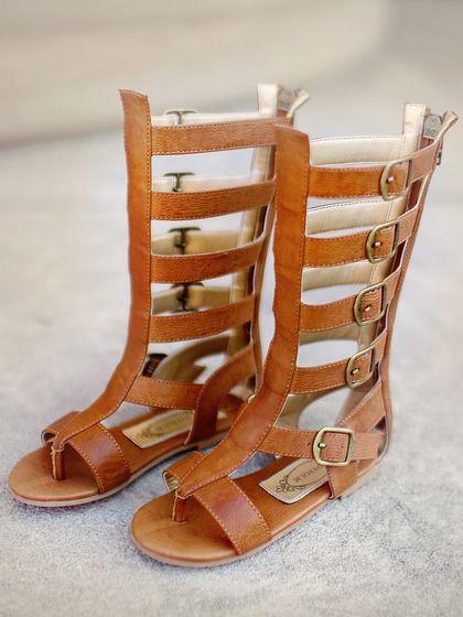For little girls!!! TOO CUTE! Jayla Gladiator Sandal by Joyfolie at Gilt
